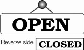 Open / Closed Sign